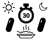 Dawkowanie-ikony-silne-dolegliwosci_2-kapsulki